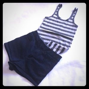 Forever 21 tank top LG and shorts 26